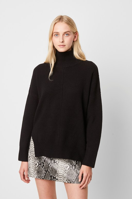 Complete the Look River Vhari Knits High Neck Jumper