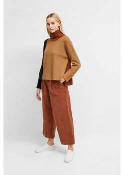 River Vhari Colour Block Roll Neck Jumper
