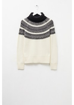 Vintage Fairisle Roll Neck Jumper