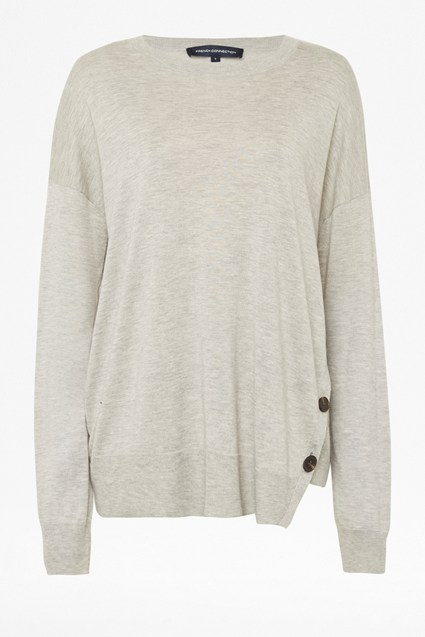 Sofina Spring Light Knitted Button Jumper