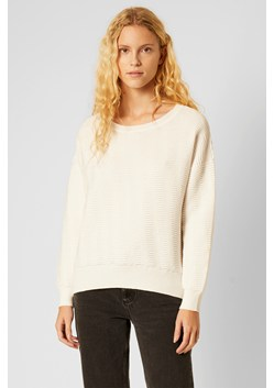 Mozart Knits Slash Neck Cropped Jumper