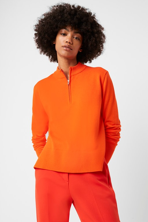 Complete the Look Mila Half Zip Jumper