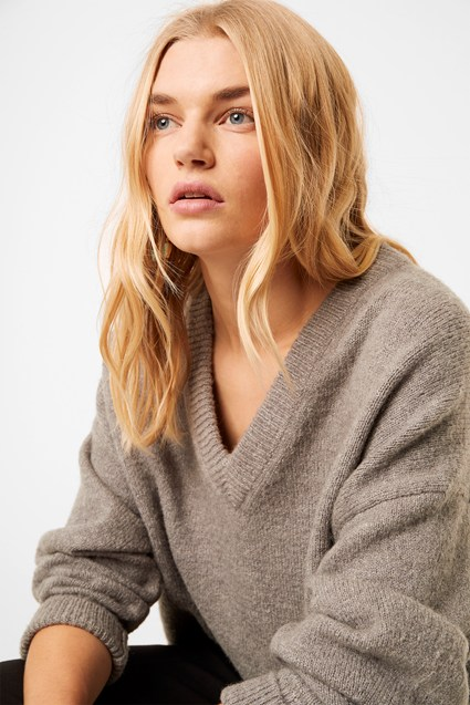Nina Knit V Neck Jumper