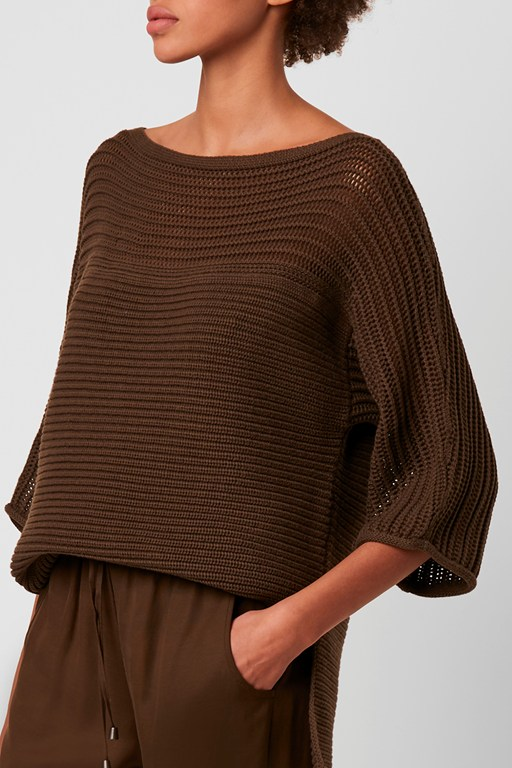 nyah high neck knit jumper