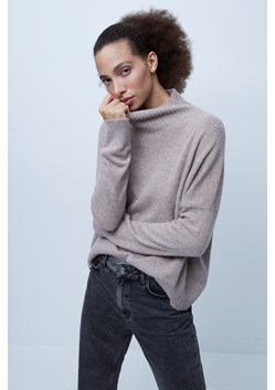 Jeanie Cashmere High Neck Jumper