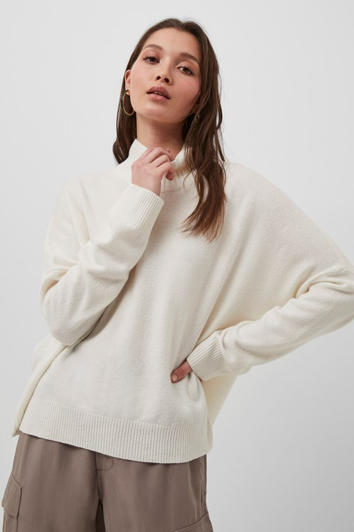 jeanie vhari high neck jumper