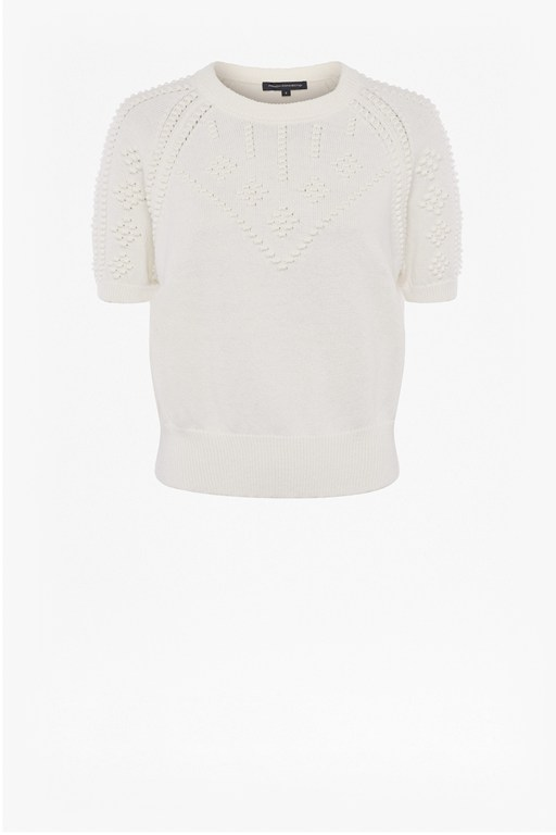 karla knitted short sleeve jumper