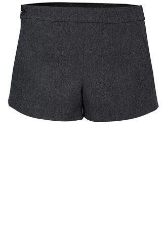 Isar Herringbone Mini Shorts