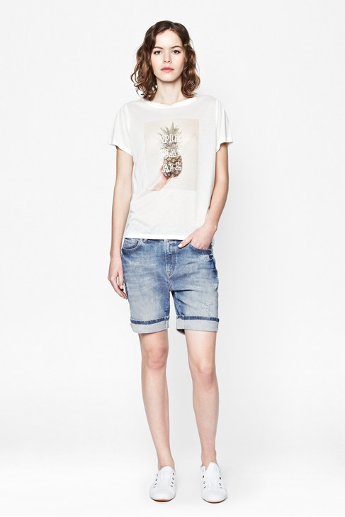 Aspect Denim Shorts