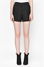 Looks Great With Croc Luxe Mini Shorts