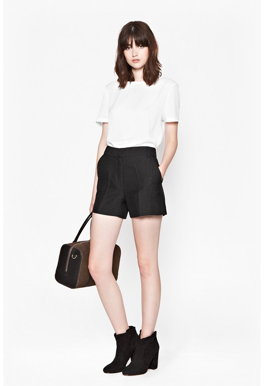Croc Luxe Mini Shorts