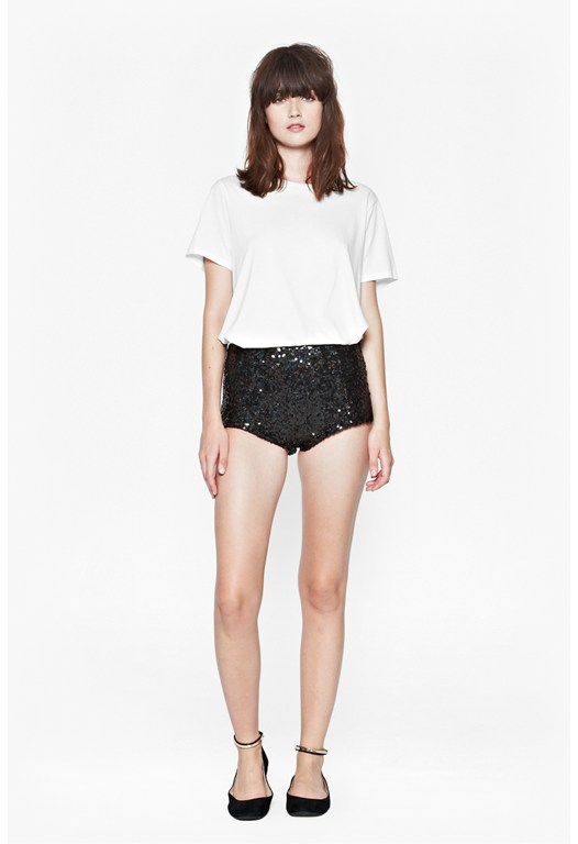 Cosmic Sparkle Hot Pants