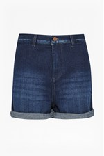 Looks Great With Mallory High Waist Denim Shorts