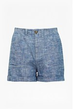 Looks Great With Hatched Linen Shorts