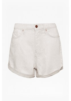 Linen Denim High Waisted Shorts