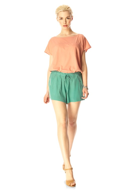 Summer Silk Mini Shorts