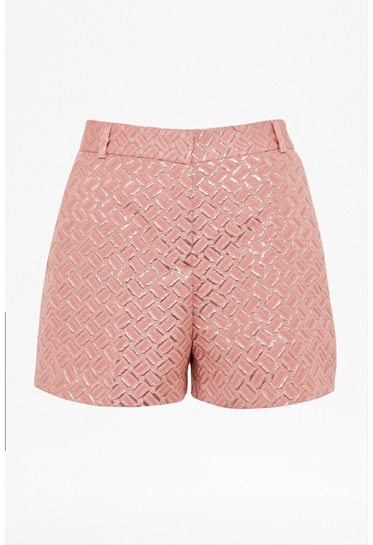 Tunnel Vision Metallic Shorts