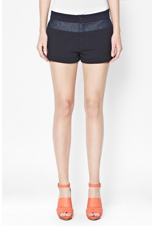 Beaumont Cotton Mini Shorts