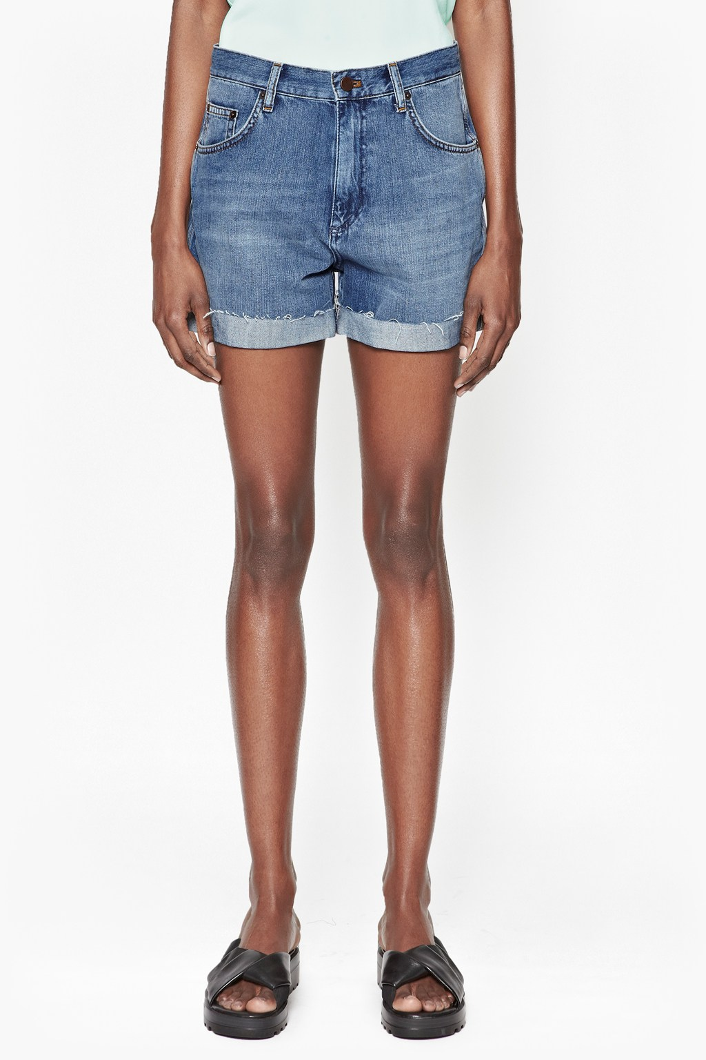 Cut-Off Denim Shorts | Skirts & Shorts