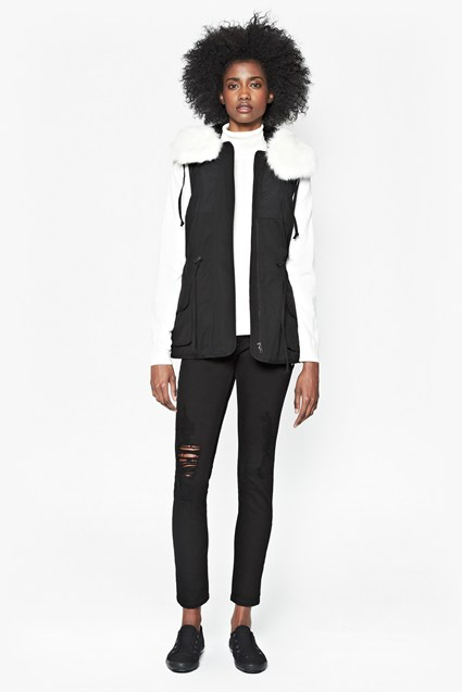 Rhumba Hooded Gilet