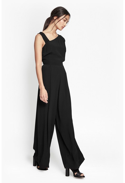 Emma Wide Leg Jumpsuit