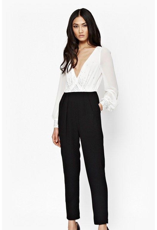 Arctic Spell Embellished Jumpsuit