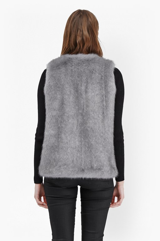 Atomic Faux Fur Gilet
