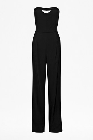 Winter Song Strapless Jumpsuit