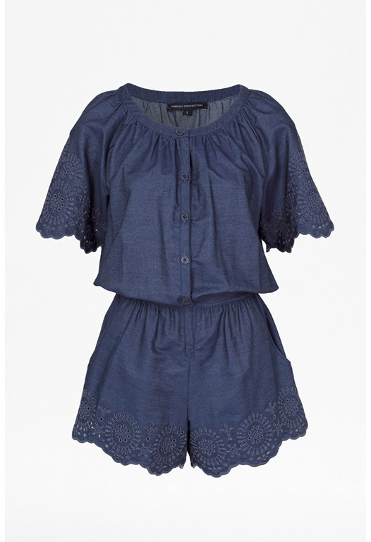 Morgana Lace Playsuit