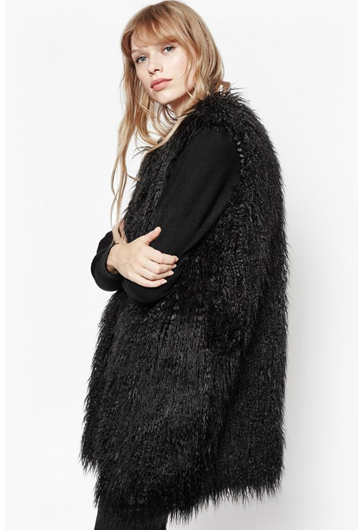 Chicago Faux Fur Gilet