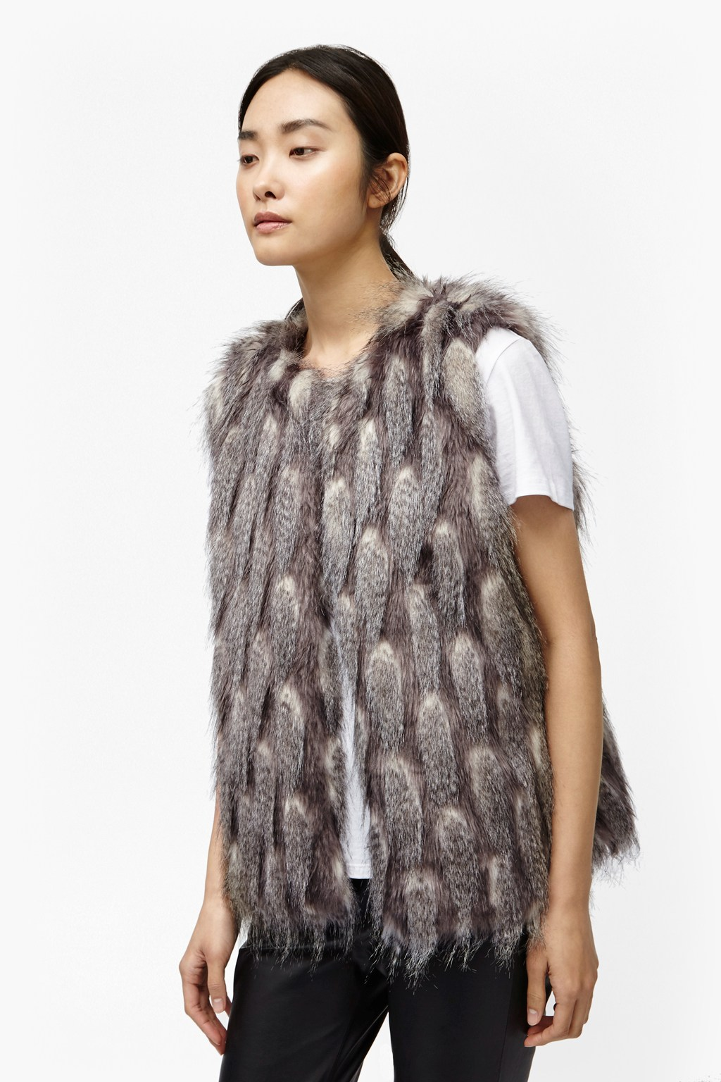 Find faux fur gilet at ShopStyle. Shop the latest collection of faux fur gilet from the most popular stores - all in one place.