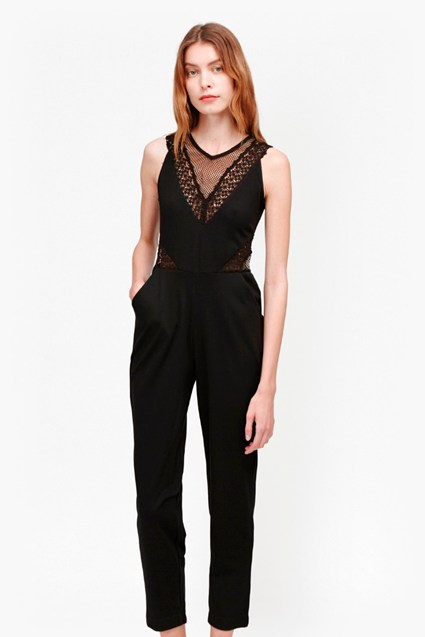 Savannah Mesh Jumpsuit