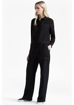 Segal Stitch Detail Wide Leg Jumpsuit