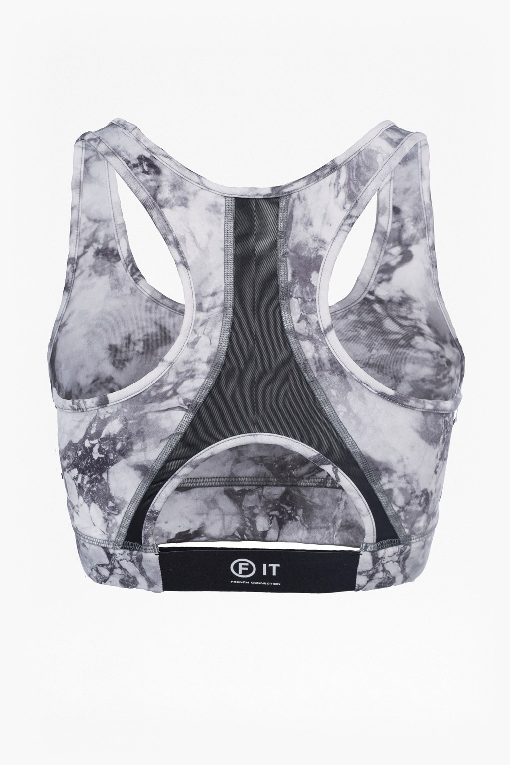 9897f1b73b loading images... Comfort Stretch Marble Print Performance Sports Bra