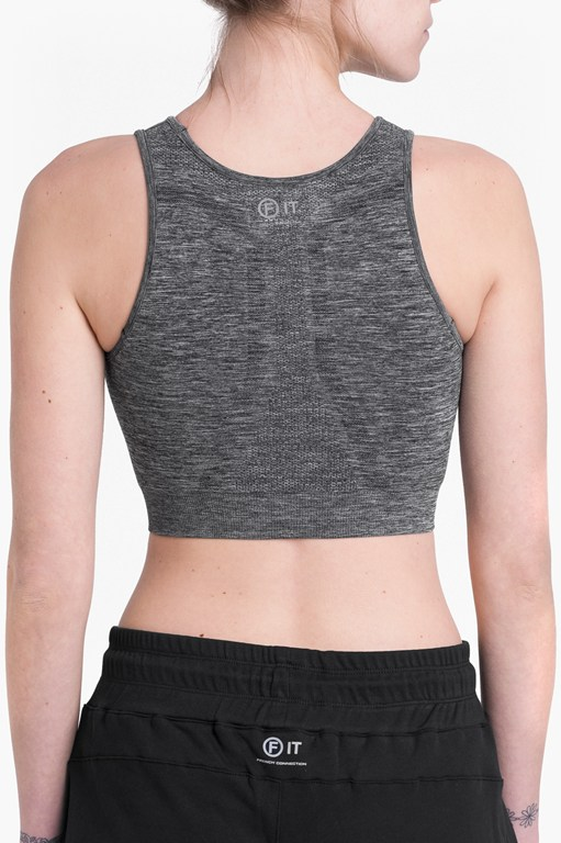 Complete the Look Moto Cross Seamless Sports Bra