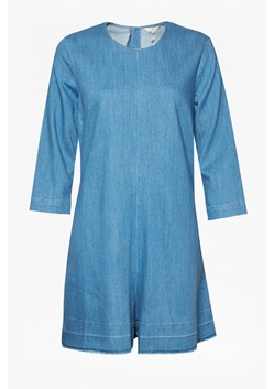 Evelyn Denim 3/4 Sleeve Playsuit
