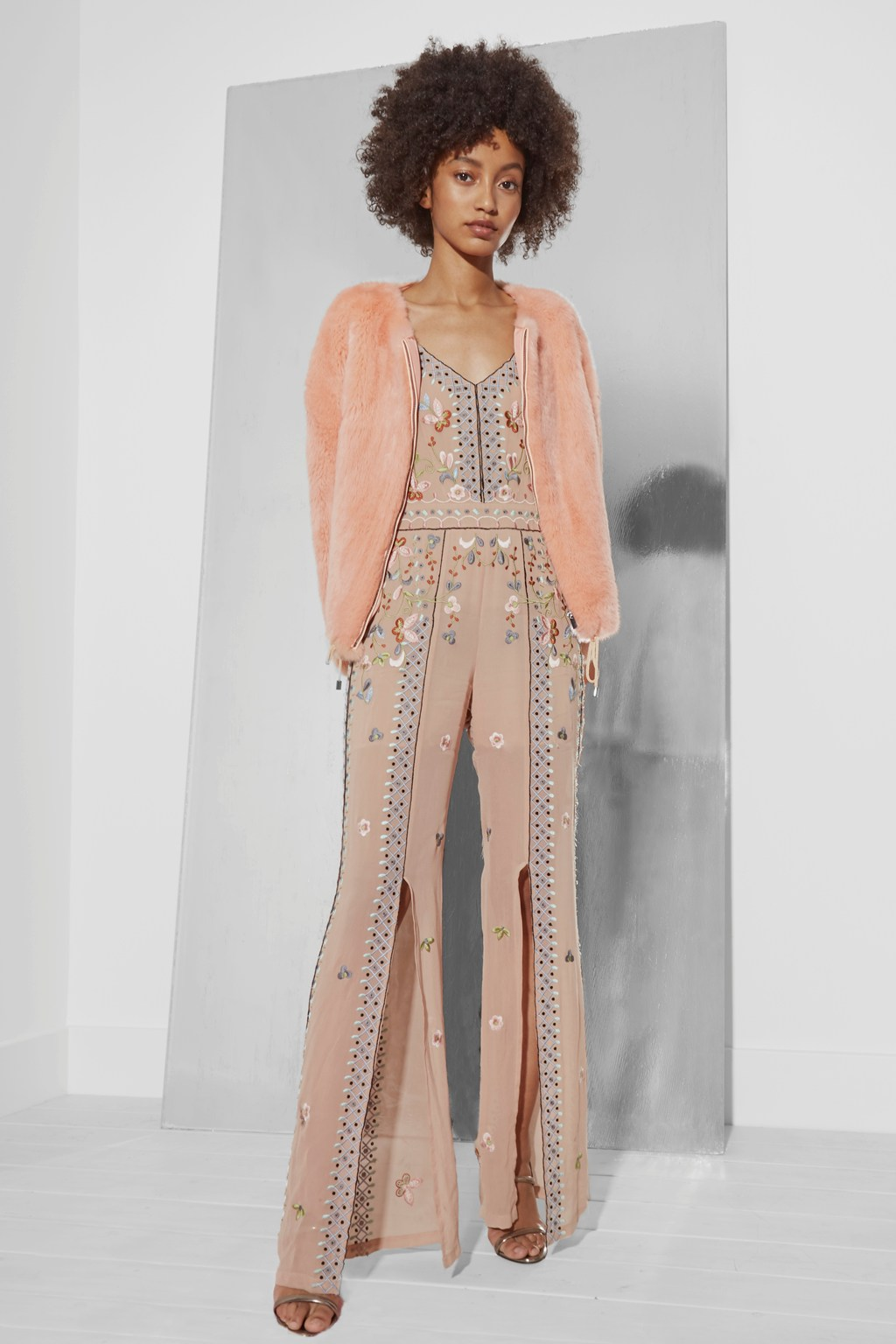 0edb8c60bcb Bijou Stitch Strappy Jumpsuit | Collections | French Connection