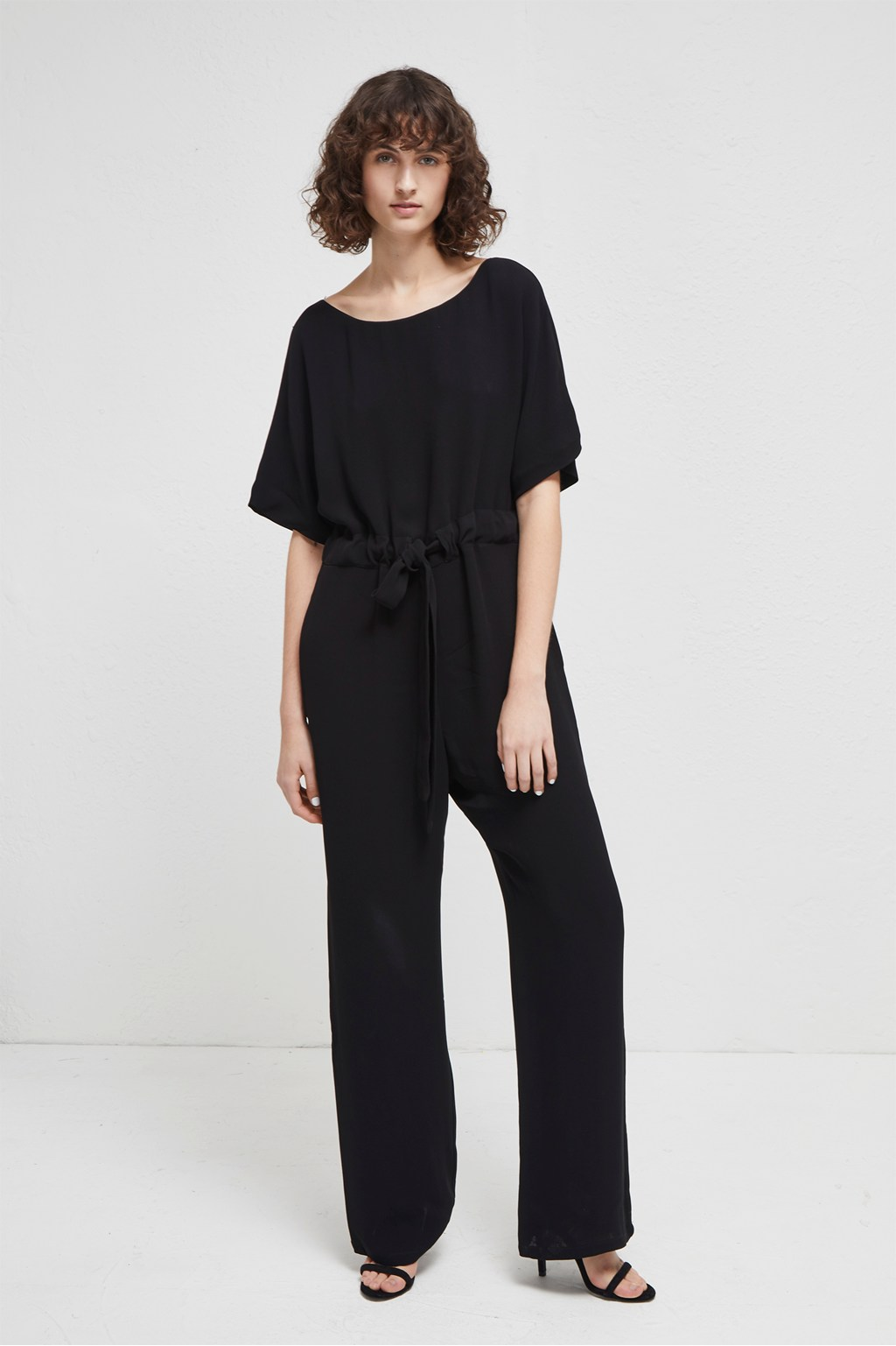 ed220201824 Patras Crepe Jumpsuit | Collections | French Connection