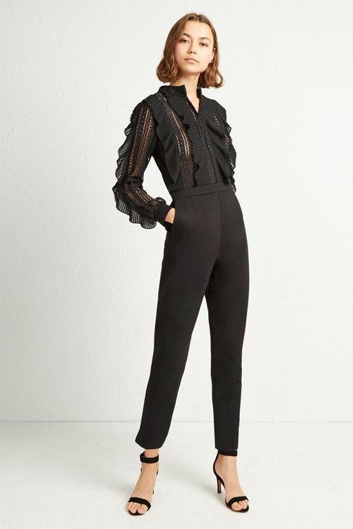 a0469a98a858 Low Stock patricia lace jersey jumpsuit