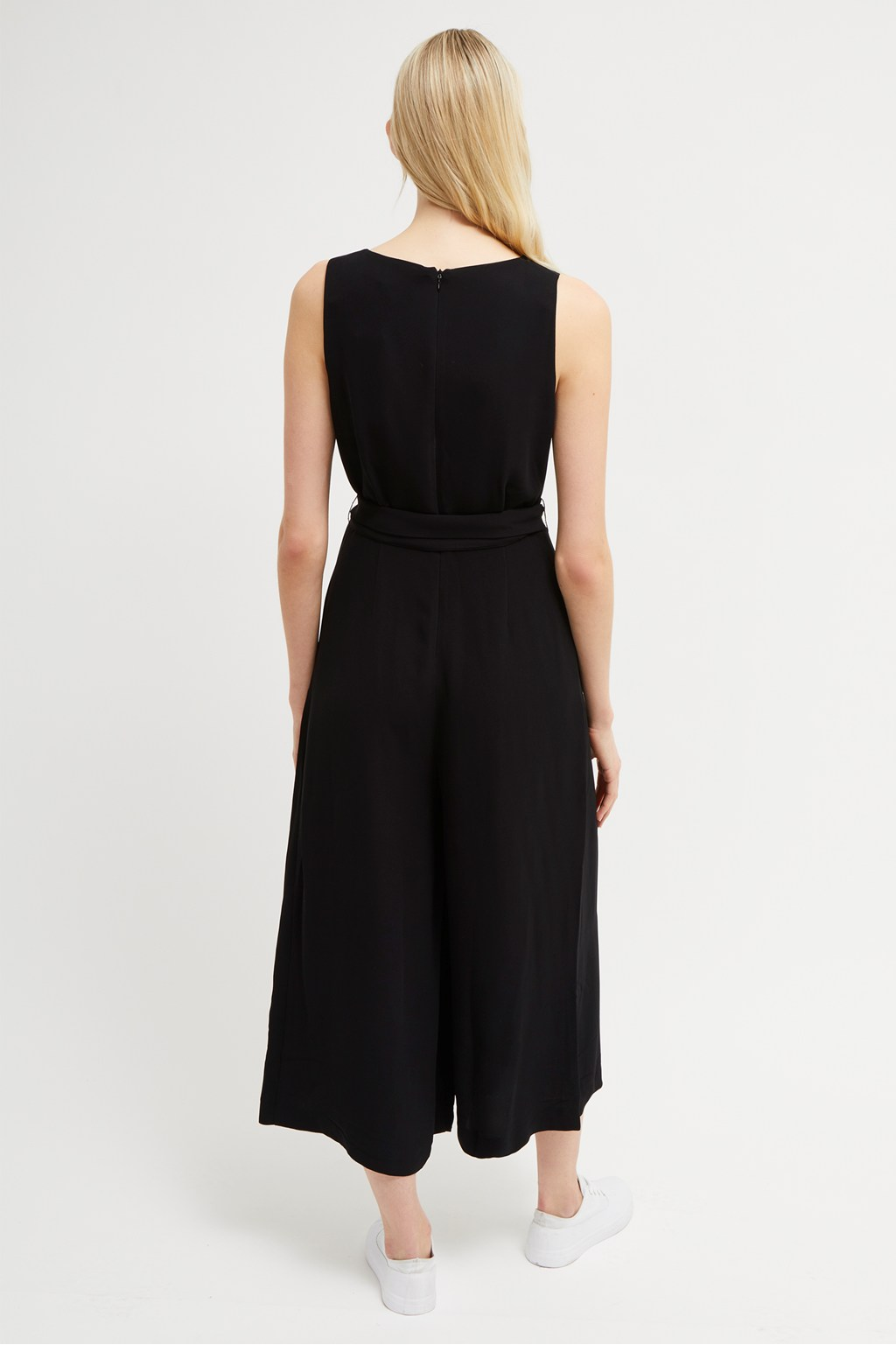 571ce530bb2 Bessie Sleeveless Crepe Jumpsuit | Collections | French Connection