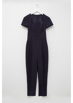 Glass Stretch Cap Sleeve Jumpsuit