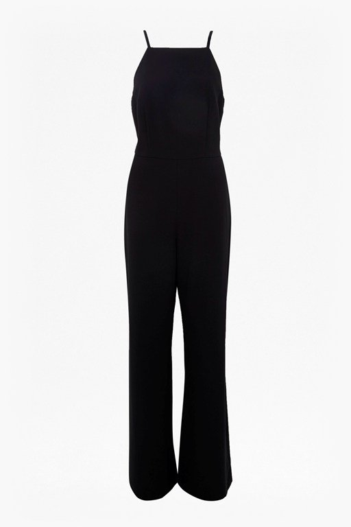 whisper square neck jumpsuit