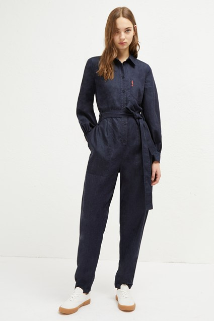Maggia Light Belted Jumpsuit