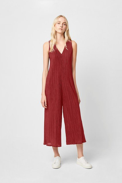 Talissa Pleated Jersey Jumpsuit