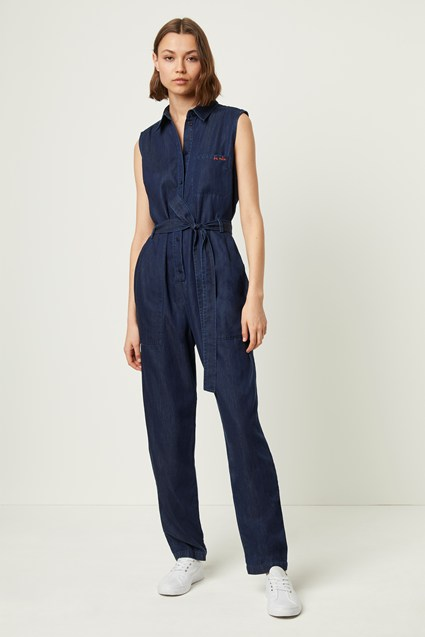 Maggia Light Denim Jumpsuit