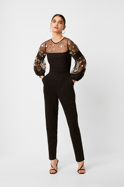 paulette embroidered jumpsuit