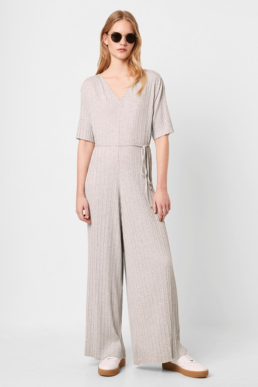 precious pleat jumpsuit
