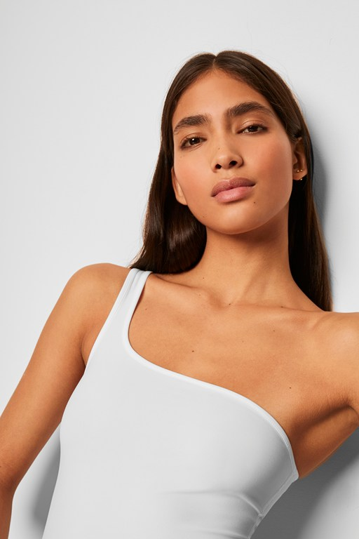 saachi jersey one shoulder bodysuit