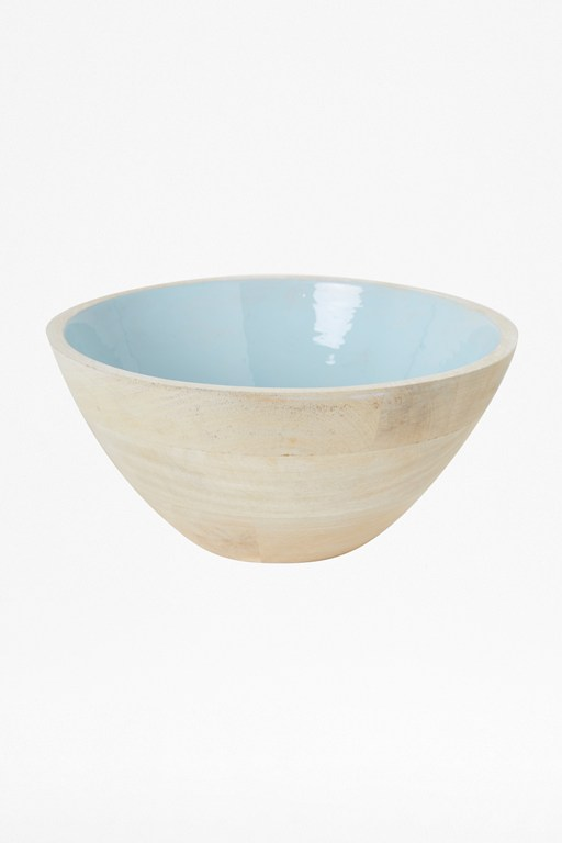 Complete the Look Menthe Large Enamelled Bowl