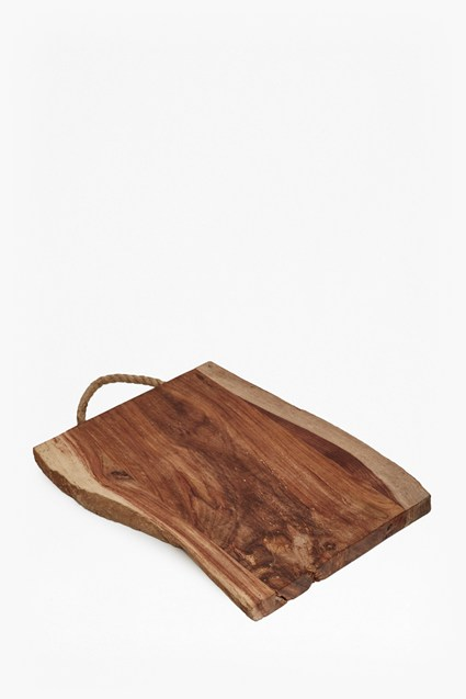 Raw Live Edge Chopping Board